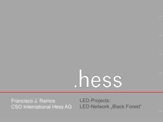 "LED-Projects:  LED-Network ""Black Forest"""