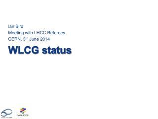 WLCG status
