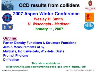 QCD results from colliders