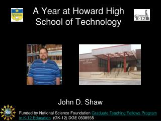 A Year at Howard High School of Technology