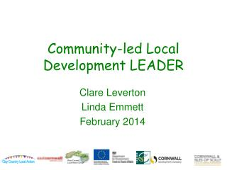 Community-led Local Development LEADER