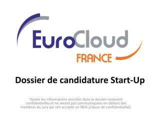 Dossier de candidature Start-Up