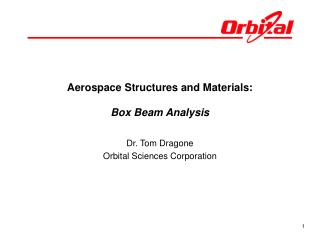 Aerospace Structures and Materials: Box Beam Analysis