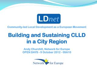 Community-led Local Development as a European Movement