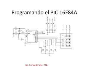 Programando el PIC 16F84A