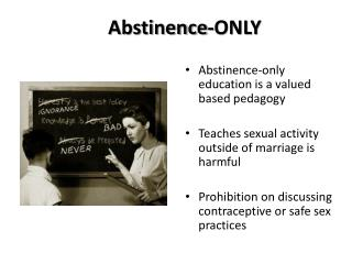 Abstinence-ONLY
