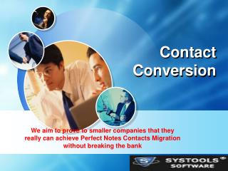 Direct Lotus Notes Contacts Conversion