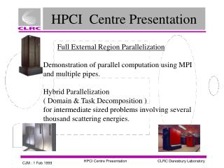 HPCI  Centre Presentation