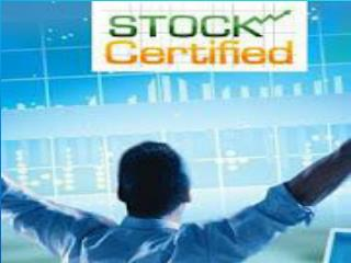 StockCertified Tutorials