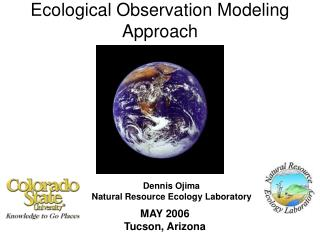 Ecological Observation Modeling Approach