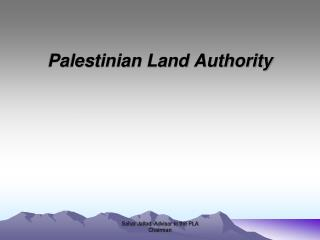 Palestinian Land Authority