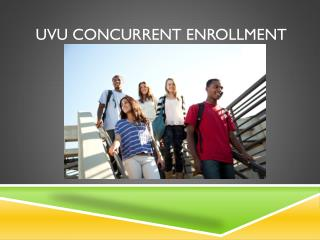 UVU Concurrent Enrollment