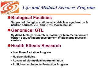 Life and Medical Sciences Program