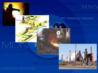 Металлургическая промышленность Использование клапанов МАС в мире