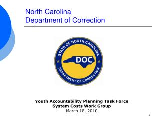 North Carolina Department of Correction