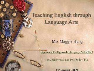Teaching English through Language Arts