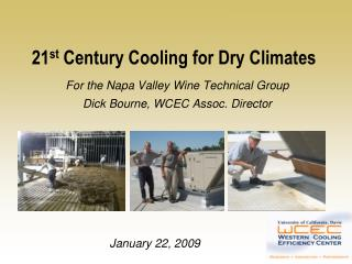 21 st  Century Cooling for Dry Climates