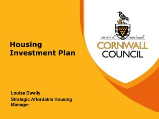 Housing Investment Plan