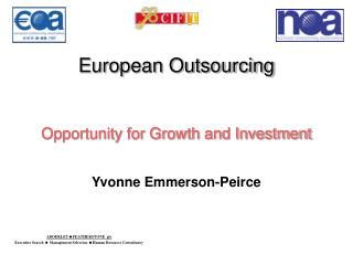 European Outsourcing Opportunity for Growth and Investment