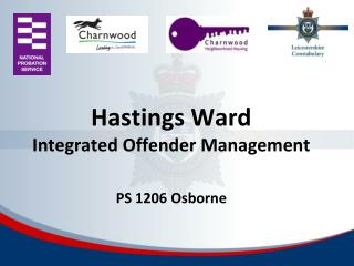 Hastings Ward Integrated Offender Management PS 1206 Osborne