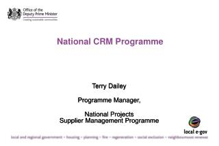 National CRM Programme