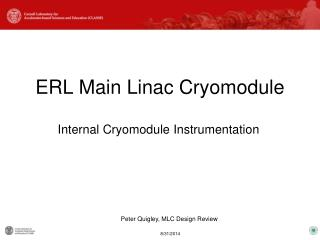 ERL Main Linac Cryomodule