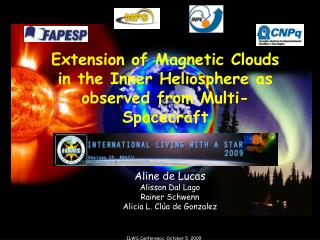 Extension of Magnetic Clouds in the Inner Heliosphere as observed from Multi-Spacecraft