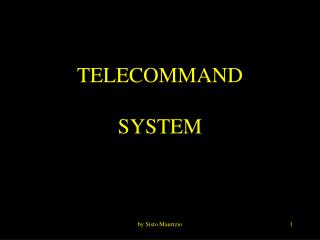 TELECOMMAND SYSTEM