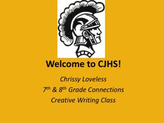 Welcome to CJHS!