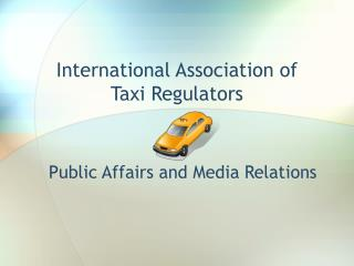 International Association of  Taxi Regulators