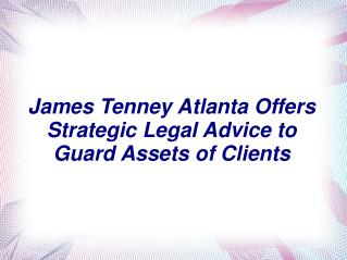 James F Tenney Atlanta