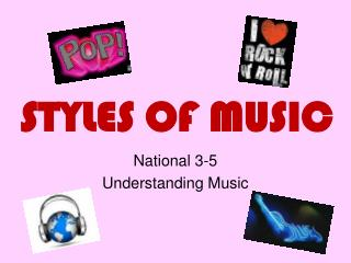 STYLES OF MUSIC