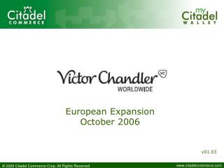European Expansion October 2006