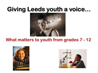 Giving Leeds youth a voice…