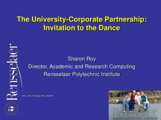 The University-Corporate Partnership: Invitation to the Dance