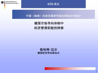 GTZ- 项目