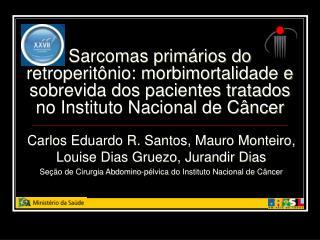 Carlos Eduardo R. Santos, Mauro Monteiro, Louise Dias Gruezo, Jurandir Dias