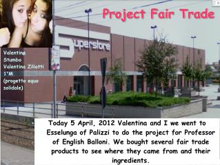 Project Fair Trade