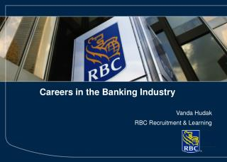 Careers in the Banking Industry