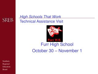 High Schools That Work Technical Assistance Visit