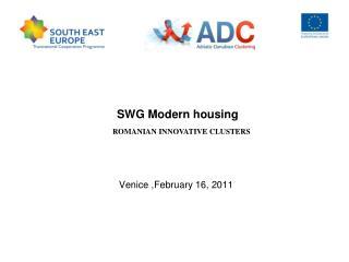 SWG Modern housing