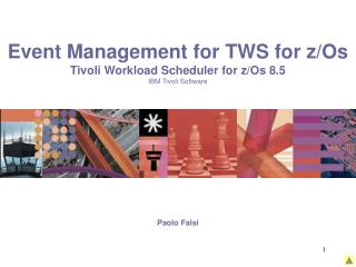 Event Management for TWS for z