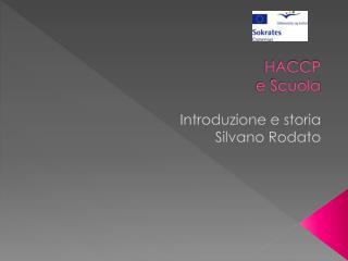 HACCP e  Scuola