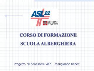 CORSO DI FORMAZIONE  SCUOLA ALBERGHIERA