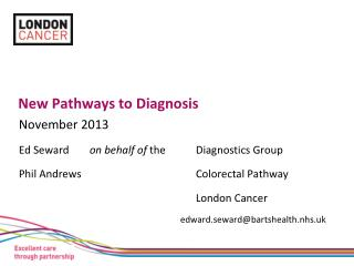 New Pathways to Diagnosis