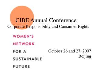 CIBE Annual Conference