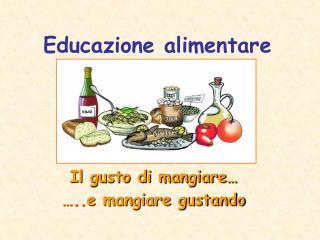 Educazione alimentare