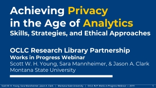 Third-Party Websites and Applications Privacy Impact Assessment Training