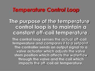 Temperature Control Loop