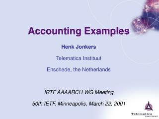 Accounting Examples